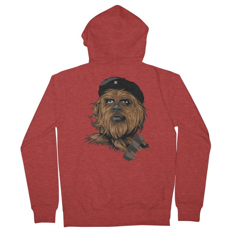 Chewie Guevara Men's French Terry Zip-Up Hoody by yobann's Artist Shop