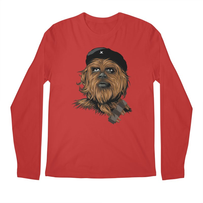 Chewie Guevara Men's Regular Longsleeve T-Shirt by yobann's Artist Shop