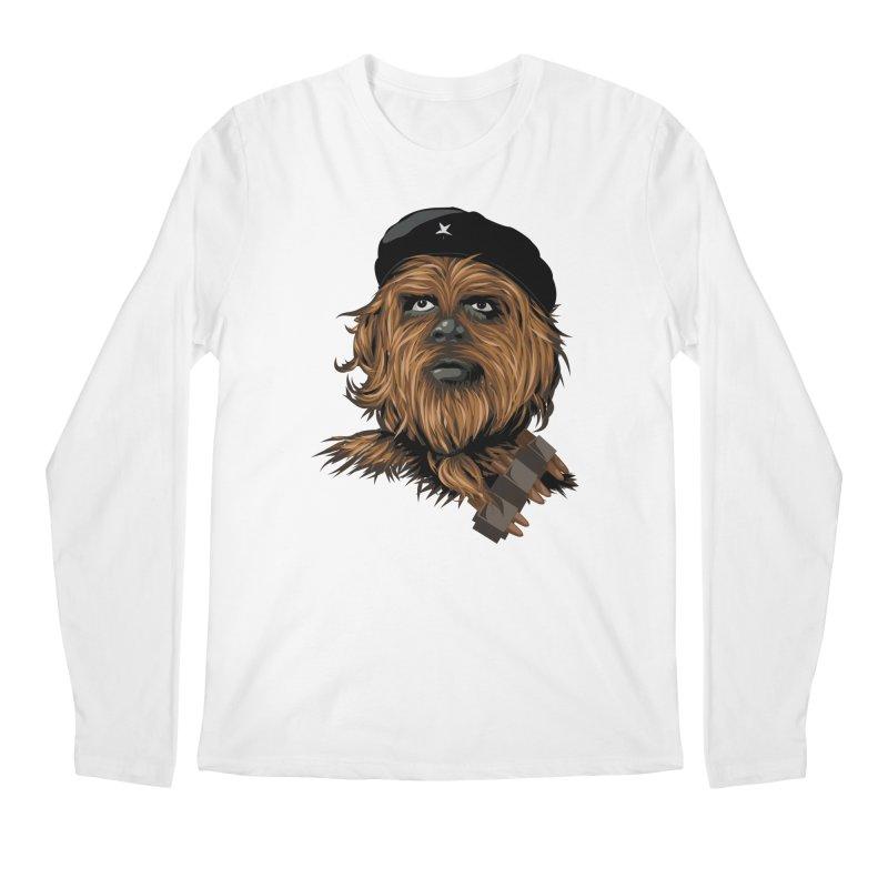 Chewie Guevara Men's Regular Longsleeve T-Shirt by yobann's Artist Shop