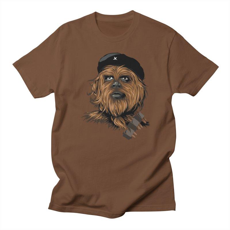 Chewie Guevara Men's Regular T-Shirt by yobann's Artist Shop