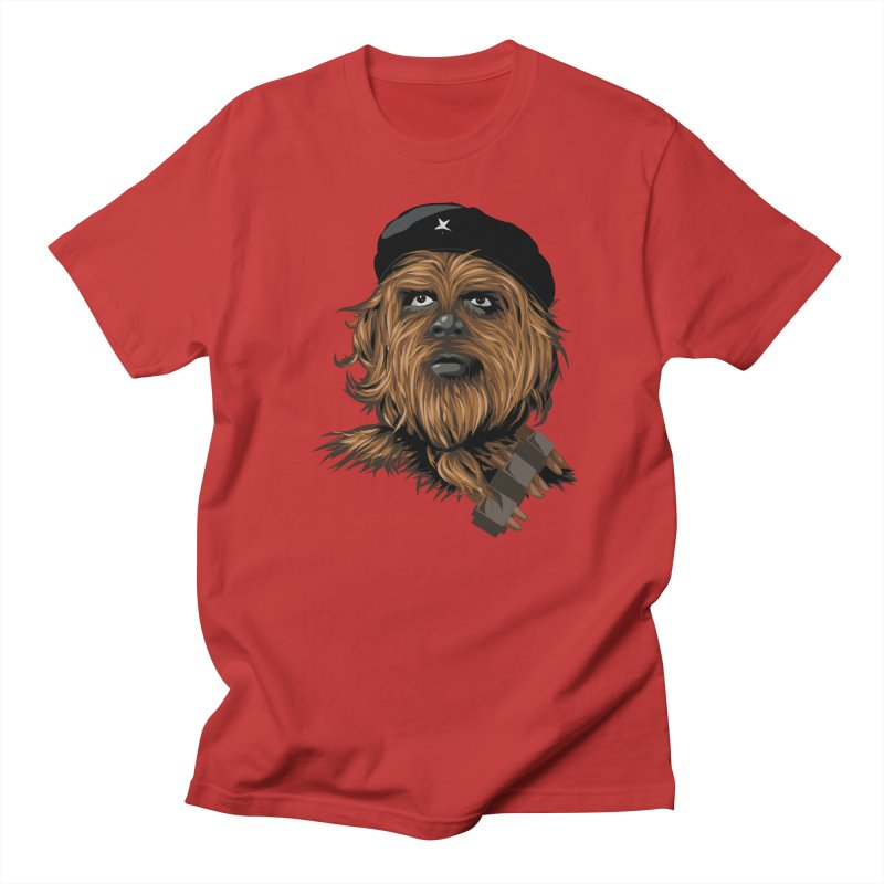 Chewie Guevara Men's Regular T-Shirt by yobann's Artist Shop