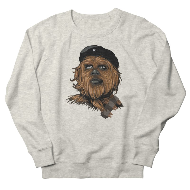 Chewie Guevara Women's French Terry Sweatshirt by yobann's Artist Shop
