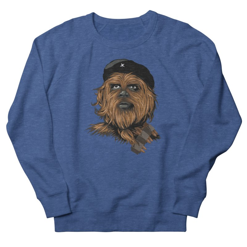 Chewie Guevara Men's French Terry Sweatshirt by yobann's Artist Shop