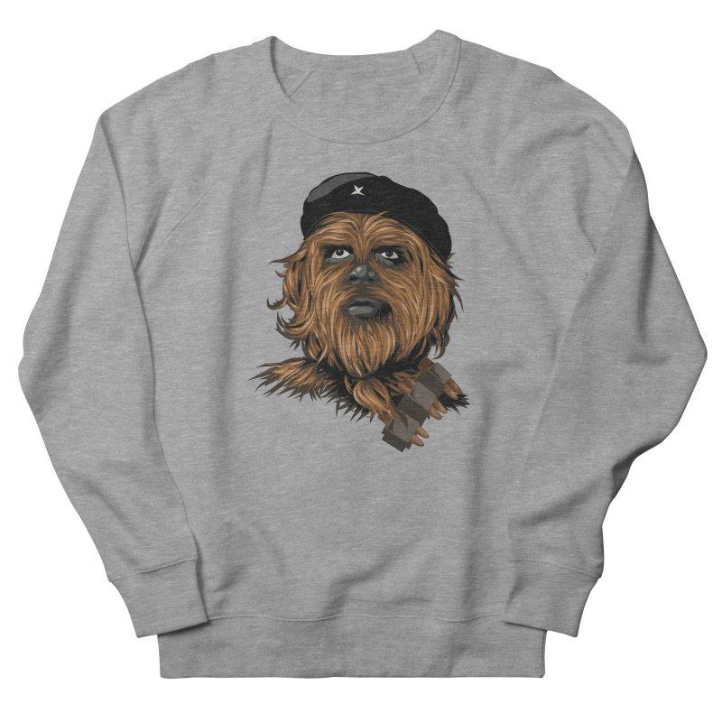Chewie Guevara Men's French Terry Sweatshirt by yobann's Artist Shop