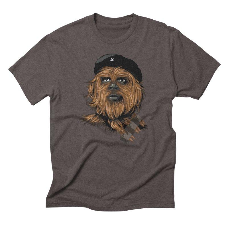 Chewie Guevara Men's Triblend T-Shirt by yobann's Artist Shop
