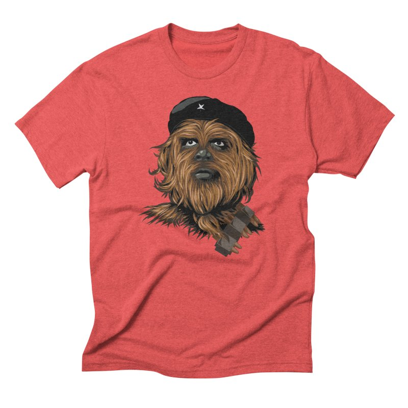 Chewie Guevara Men's Triblend T-Shirt by yobann's Artist Shop
