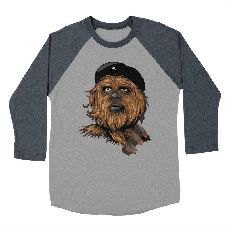 Chewie Guevara Women's Baseball Triblend Longsleeve T-Shirt by yobann's Artist Shop