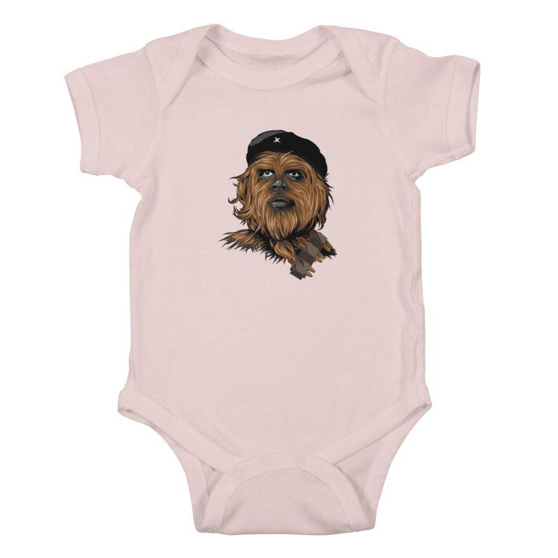 Chewie Guevara Kids Baby Bodysuit by yobann's Artist Shop