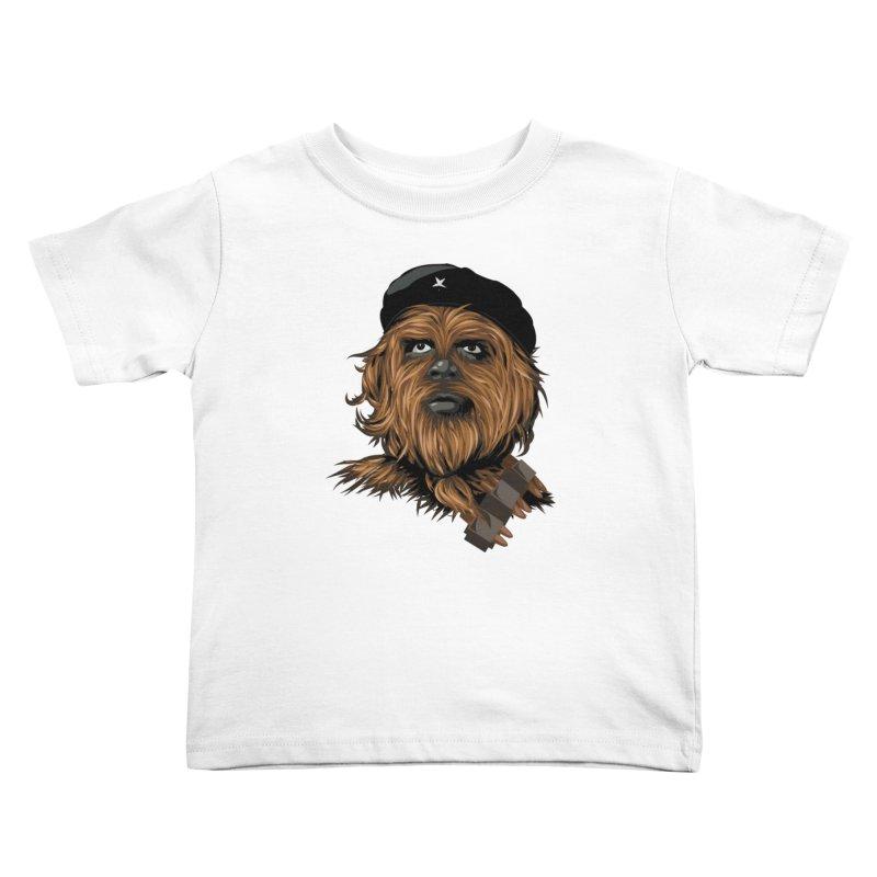Chewie Guevara Kids Toddler T-Shirt by yobann's Artist Shop