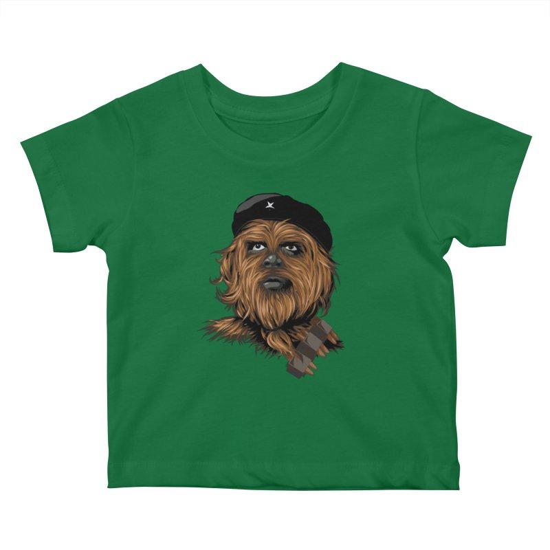 Chewie Guevara Kids Baby T-Shirt by yobann's Artist Shop