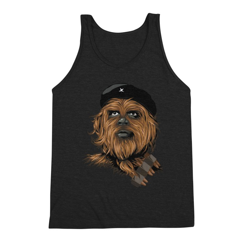 Chewie Guevara Men's Triblend Tank by yobann's Artist Shop
