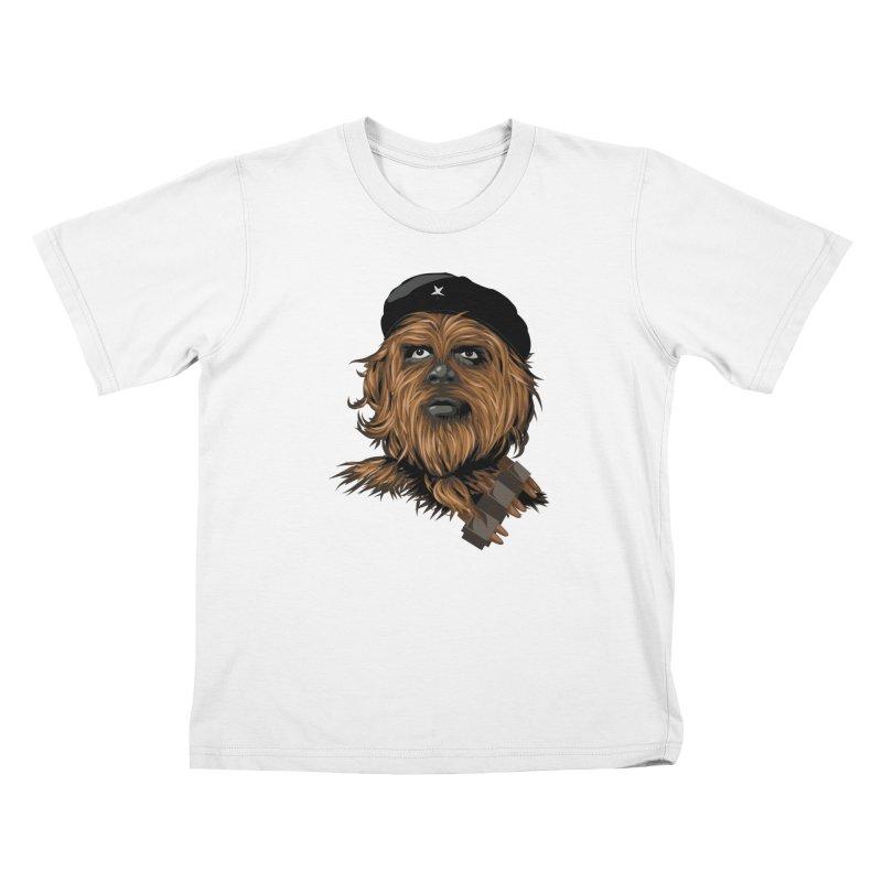 Chewie Guevara Kids T-Shirt by yobann's Artist Shop