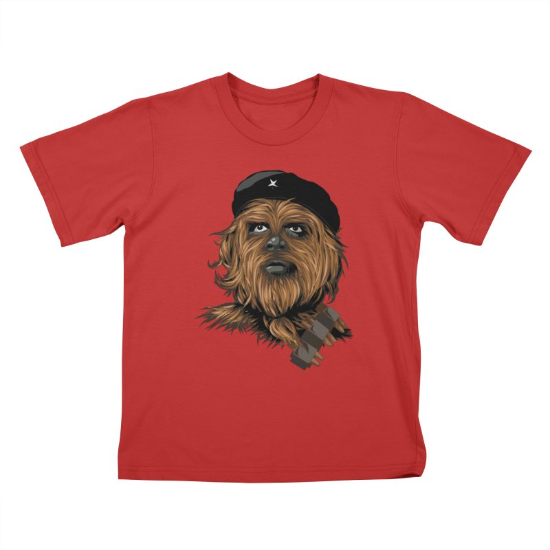 Chewie Guevara Kids T-Shirt by yobann's Artist Shop