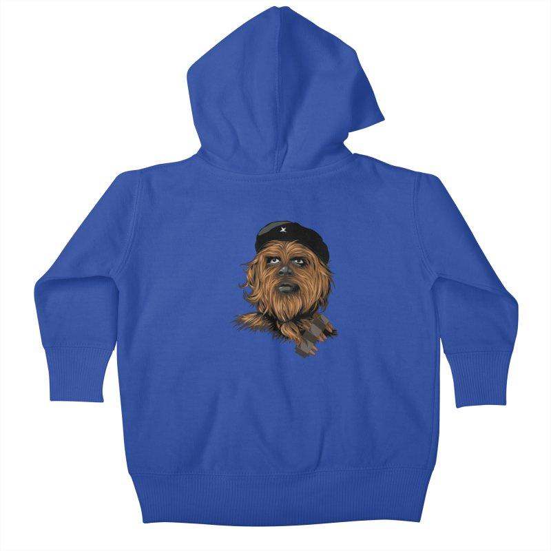 Chewie Guevara Kids Baby Zip-Up Hoody by yobann's Artist Shop