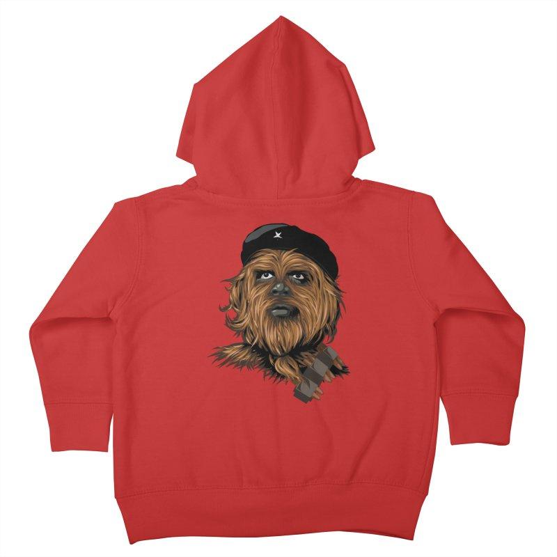 Chewie Guevara Kids Toddler Zip-Up Hoody by yobann's Artist Shop