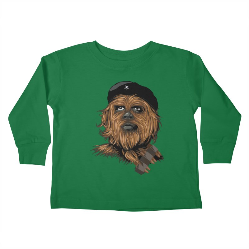 Chewie Guevara Kids Toddler Longsleeve T-Shirt by yobann's Artist Shop