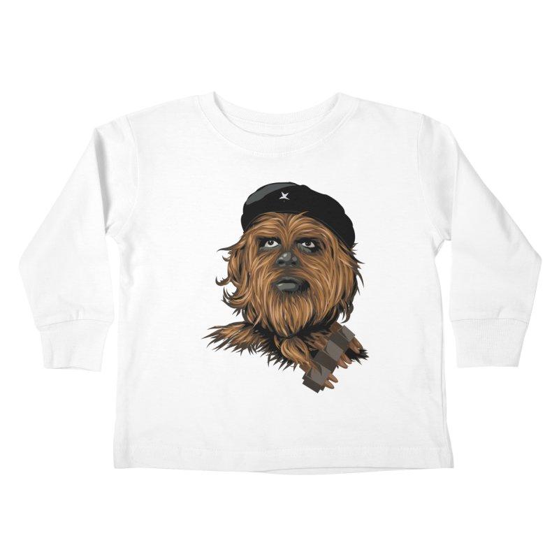 Chewie Guevara Kids Toddler Longsleeve T-Shirt by yobann's Artist Shop