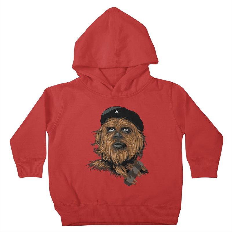Chewie Guevara Kids Toddler Pullover Hoody by yobann's Artist Shop
