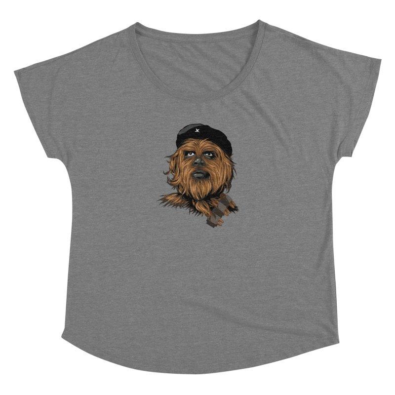 Chewie Guevara Women's Scoop Neck by yobann's Artist Shop