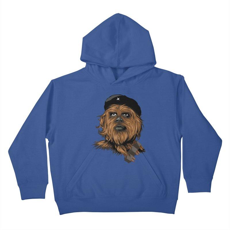 Chewie Guevara Kids Pullover Hoody by yobann's Artist Shop