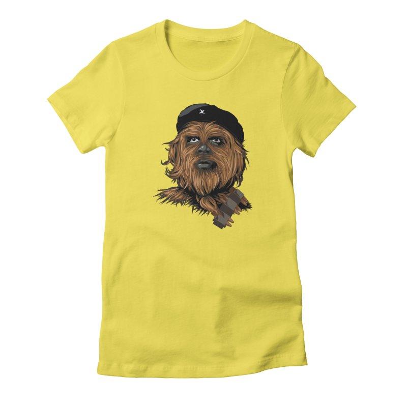 Chewie Guevara Women's T-Shirt by yobann's Artist Shop