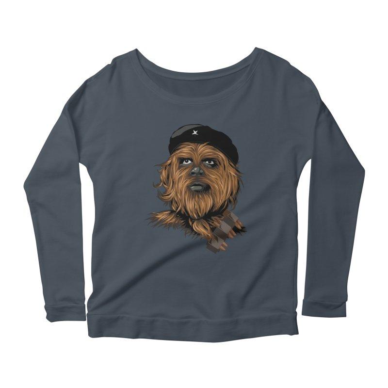 Chewie Guevara Women's Scoop Neck Longsleeve T-Shirt by yobann's Artist Shop
