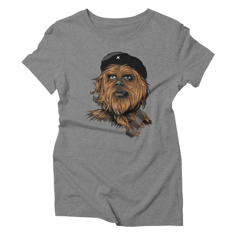 Chewie Guevara Women's Triblend T-Shirt by yobann's Artist Shop