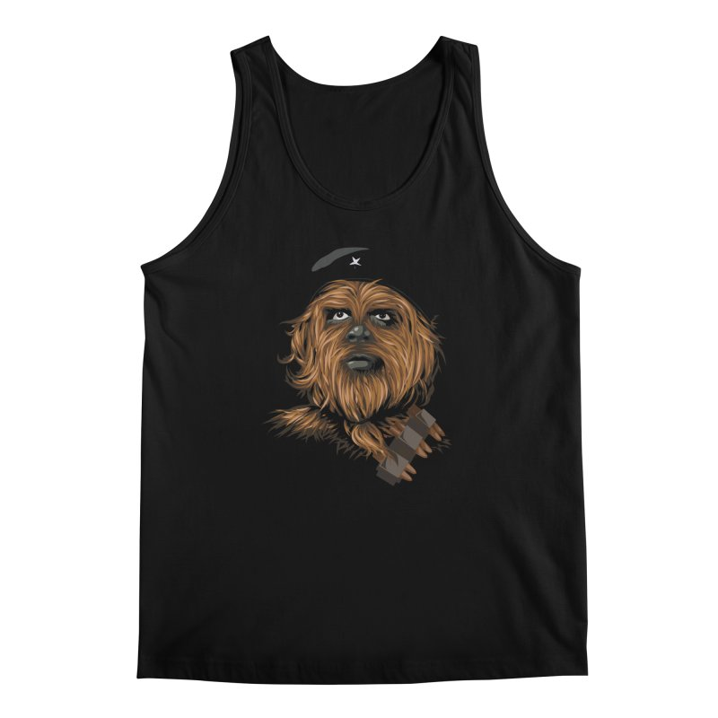 Chewie Guevara Men's Regular Tank by yobann's Artist Shop