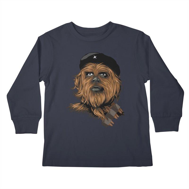 Chewie Guevara Kids Longsleeve T-Shirt by yobann's Artist Shop