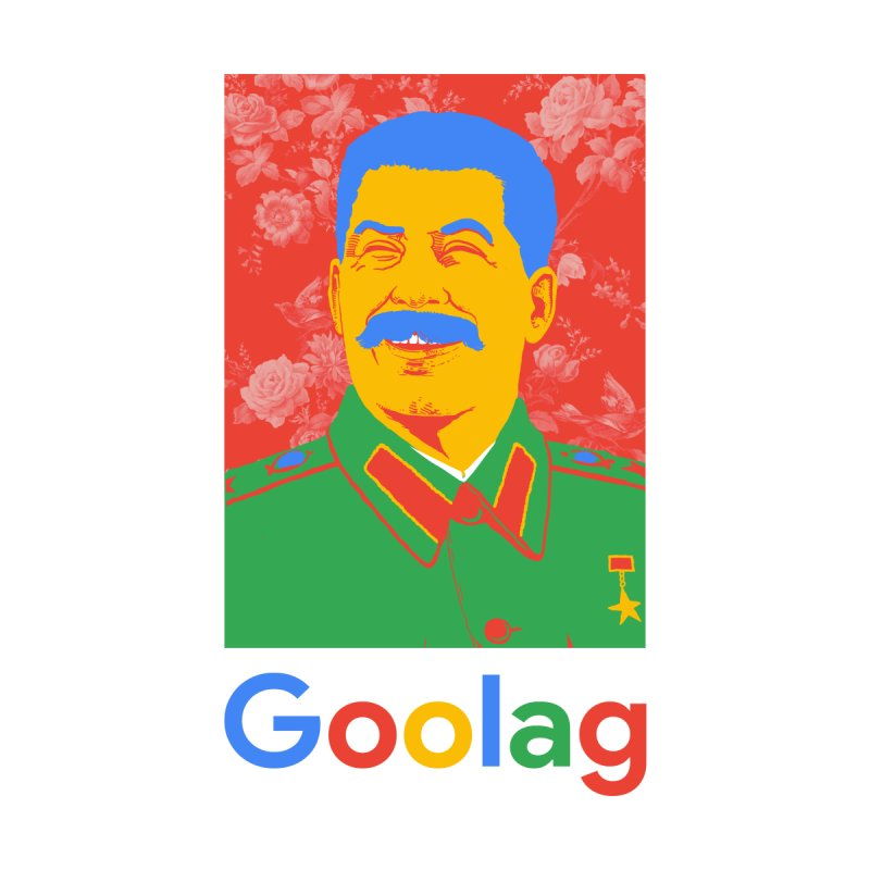 Stalin Goolag Accessories Zip Pouch by yobann's Artist Shop