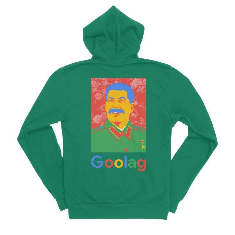 Stalin Goolag Women's Sponge Fleece Zip-Up Hoody by yobann's Artist Shop