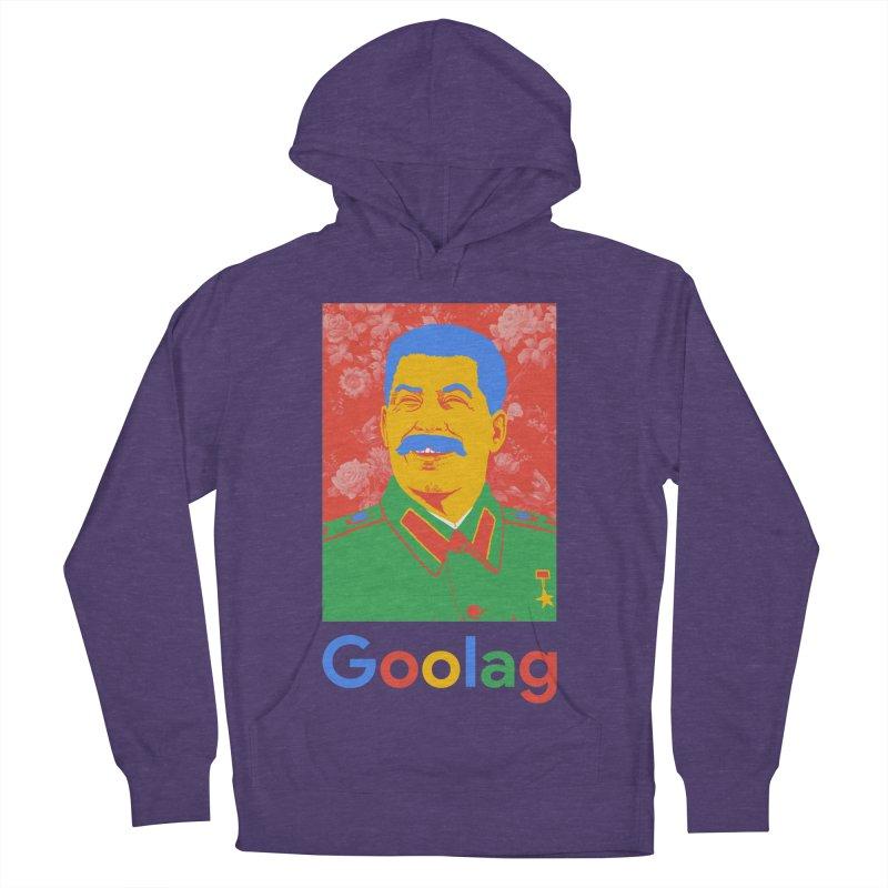 Stalin Goolag Men's French Terry Pullover Hoody by yobann's Artist Shop