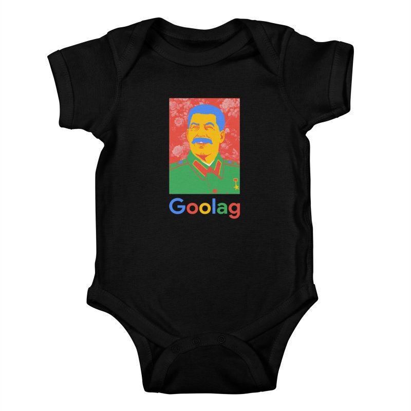 Stalin Goolag Kids Baby Bodysuit by yobann's Artist Shop