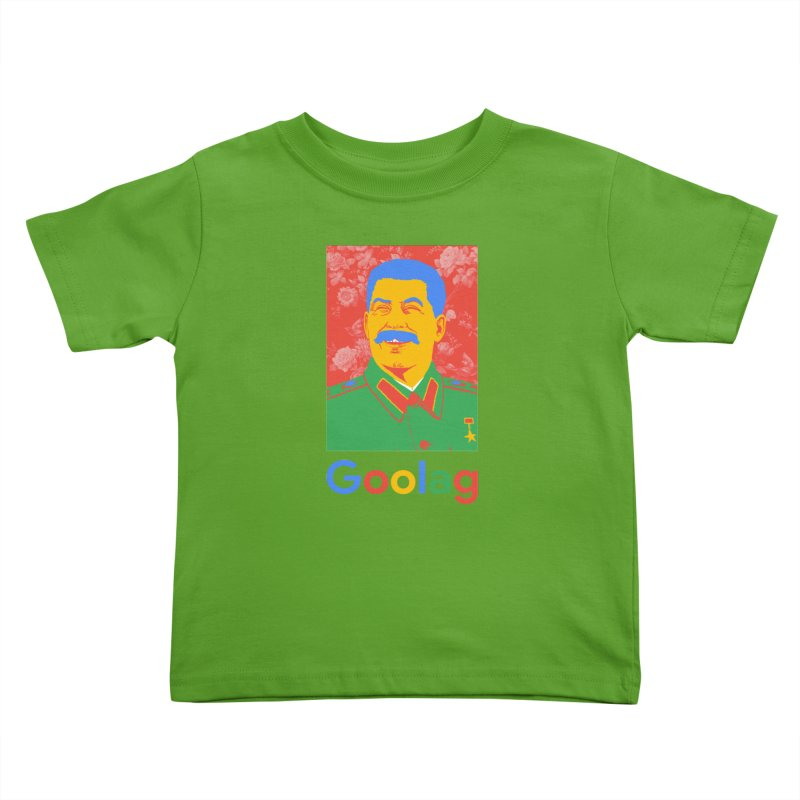 Stalin Goolag Kids Toddler T-Shirt by yobann's Artist Shop