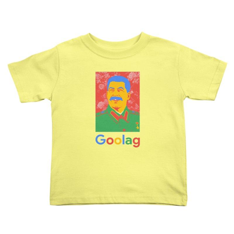 Stalin Goolag Kids Toddler T-Shirt by yobann's Artist Shop