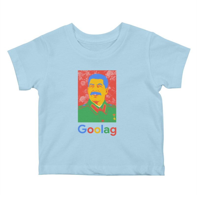 Stalin Goolag Kids Baby T-Shirt by yobann's Artist Shop