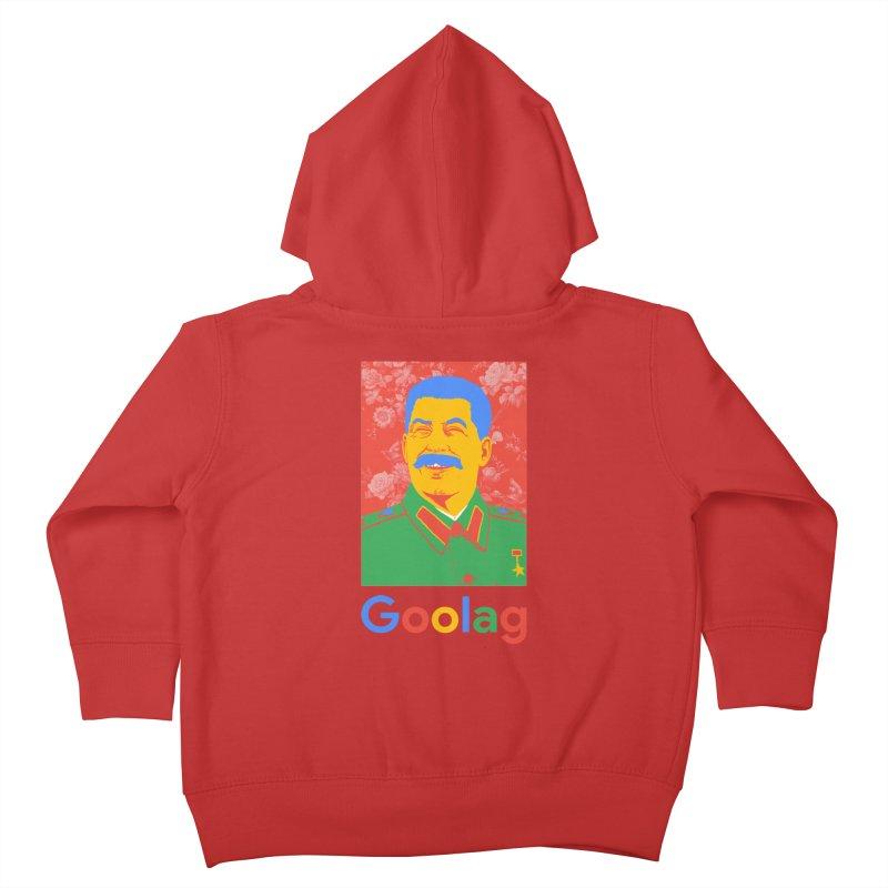 Stalin Goolag Kids Toddler Zip-Up Hoody by yobann's Artist Shop