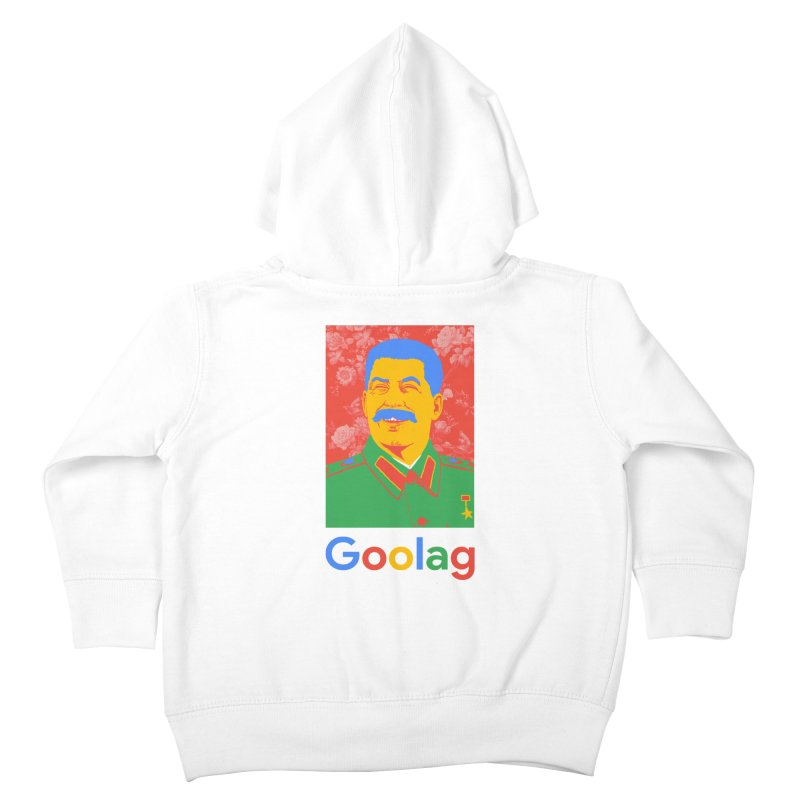 Stalin Goolag Kids Toddler Zip-Up Hoody by yobann's Artist Shop