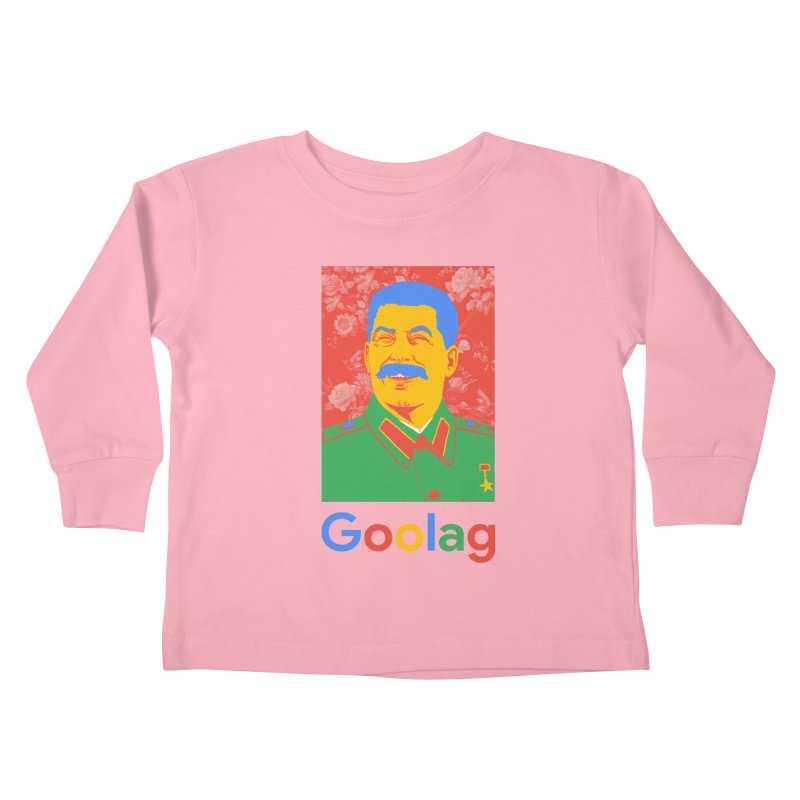Stalin Goolag Kids Toddler Longsleeve T-Shirt by yobann's Artist Shop