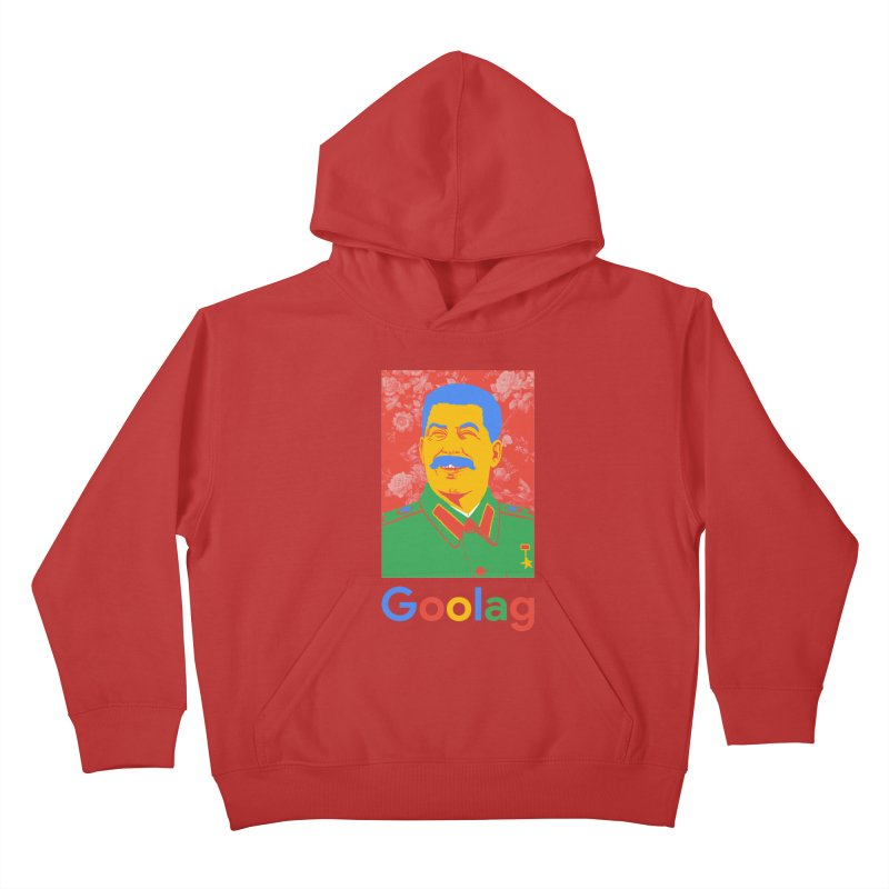 Stalin Goolag Kids Pullover Hoody by yobann's Artist Shop