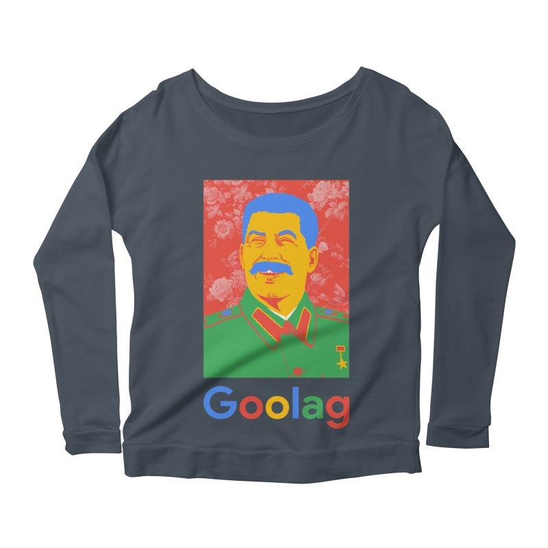 Stalin Goolag Women's Scoop Neck Longsleeve T-Shirt by yobann's Artist Shop