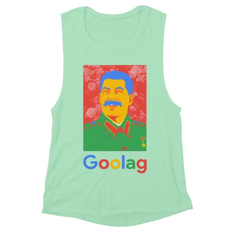 Stalin Goolag Women's Muscle Tank by yobann's Artist Shop