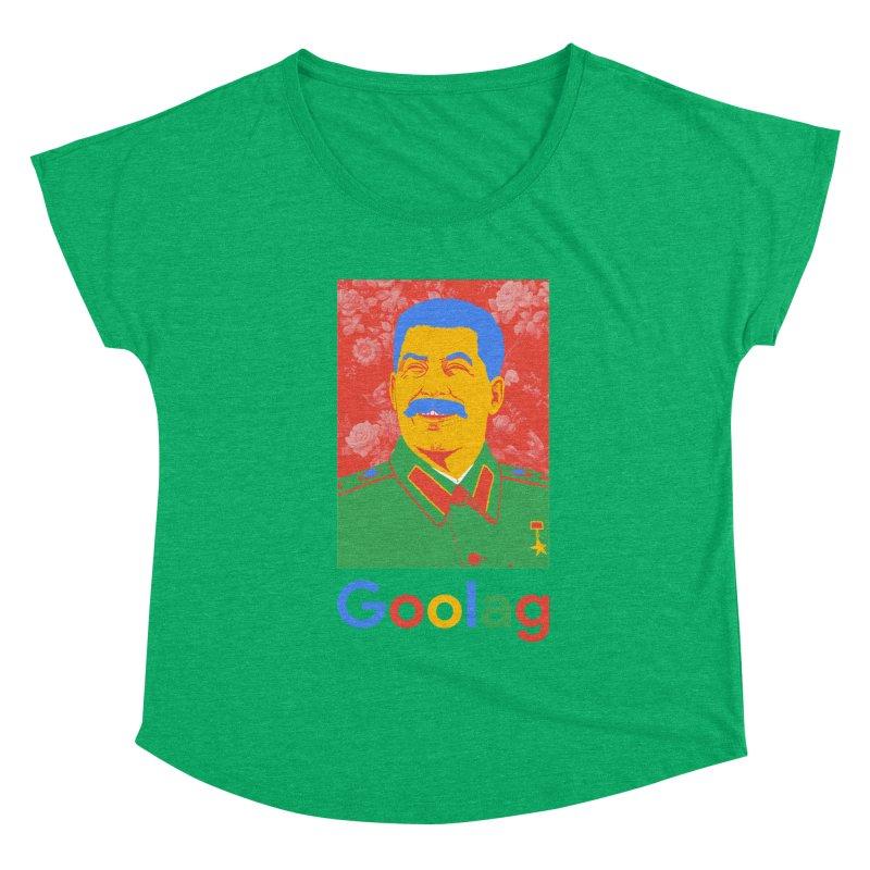 Stalin Goolag Women's Scoop Neck by yobann's Artist Shop