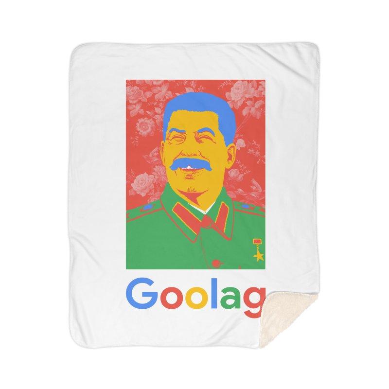 Stalin Goolag Home Sherpa Blanket Blanket by yobann's Artist Shop