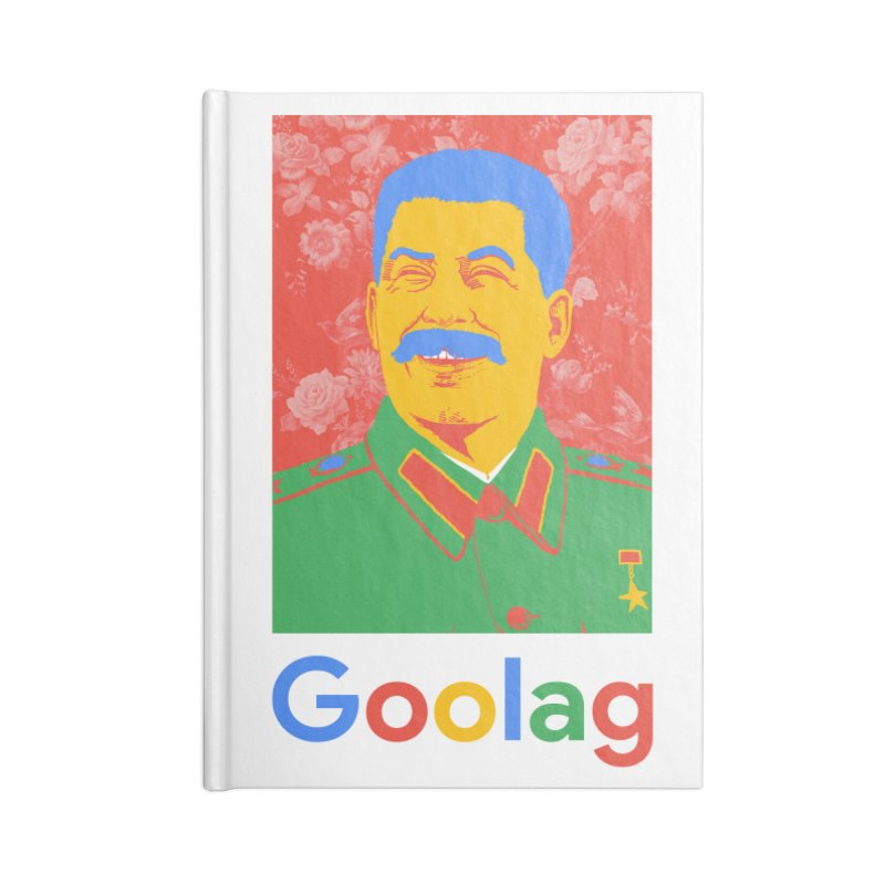 Stalin Goolag Accessories Lined Journal Notebook by yobann's Artist Shop
