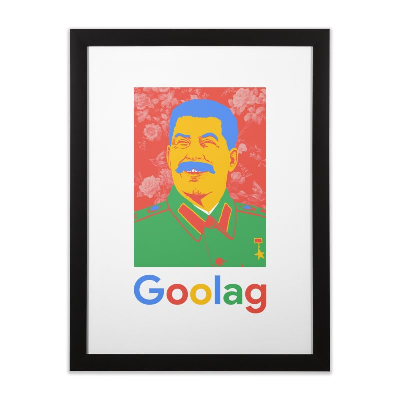 Stalin Goolag Home Framed Fine Art Print by yobann's Artist Shop