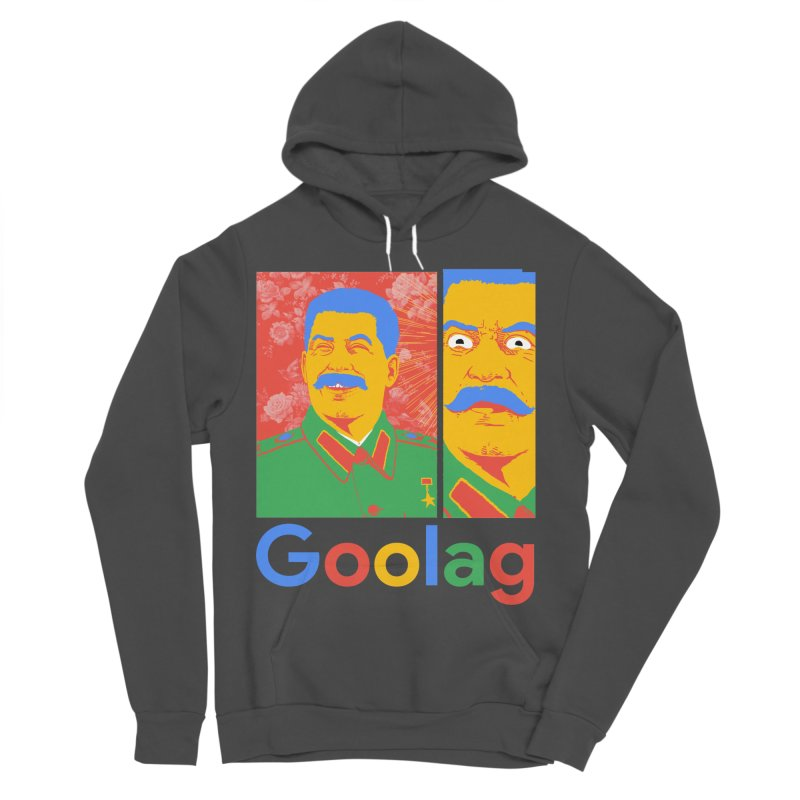 Stalin Goolag Women's Sponge Fleece Pullover Hoody by yobann's Artist Shop