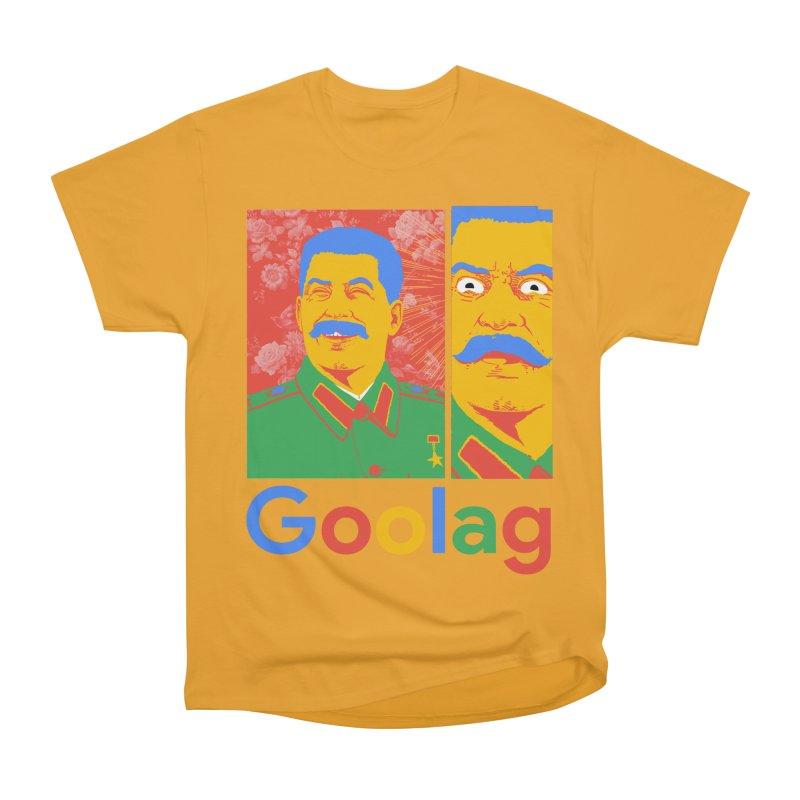 Stalin Goolag Men's Heavyweight T-Shirt by yobann's Artist Shop