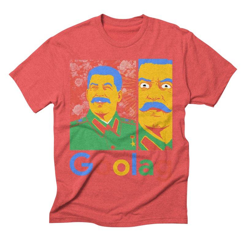 Stalin Goolag Men's Triblend T-Shirt by yobann's Artist Shop