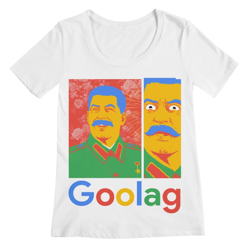 Stalin Goolag Women's Regular Scoop Neck by yobann's Artist Shop